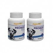 Kit 2 Unidades Promun Dog Tabs 52,5g (30 Tabletes) - Organnact