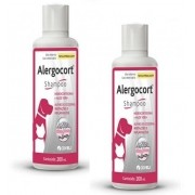 Kit 2 Unidades Shampoo Alergocort 200ml - Coveli