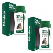Kit 2 Unidades Shampoo Hipoalergênico Pelo & Derme 320ml - Vetnil