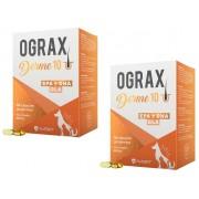 Kit 2 Unidades Suplemento Alimentar para Câes e Gatos Ograx Derme 10 (30 cápsulas) - Avert