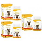 Kit 3 Unidades Deratopic Dog Tabs 54g (60 Tabletes) - Organnact