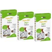 Kit 3 Unidades Pet Palitos 160g - Organnact