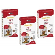 Kit 3 Unidades Pet Palitos Zero 160g - Organnact