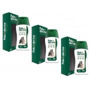 Kit 3 Unidades Shampoo Hipoalergênico Pelo & Derme 320ml - Vetnil