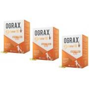 Kit 3 Unidades Suplemento Alimentar para Câes e Gatos Ograx Derme 10 (30 cápsulas) - Avert