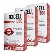 Kit 3 Unidades Suplemento para Cães e Gatos Oxcell 500 - Avert
