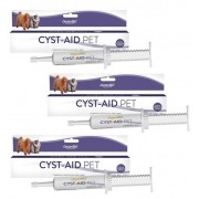 Kit 3 Unidades Suplemento Vitamínico Cyst-Aid Pet Gel 35g - Organnact