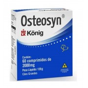 Osteosyn 2000mg (60 comprimidos) - Konig (Validade 20/11/2020)