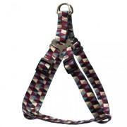 Peitoral para Cães de porte Pequeno Geometric 37-50cm / 1,5cm - São Pet