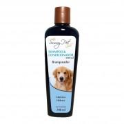 Shampoo e Condicionador Branqueador Sem Sal 340ml - Sunny Pet