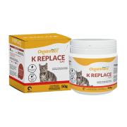 Suplemento Vitamínico Aminoácido para Gatos K Replace Cat 50g- Organnact