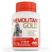 Suplemento Vitamínico Hemolitan Gold 30g (30 Comp.) - Vetnil