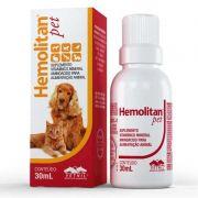 Suplemento Vitamínico Hemolitan Pet 30ml - Vetnil