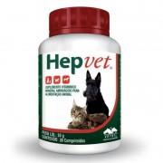 Suplemento Vitaminico Hepvet 30g (30 Comprimidos) - Vetnil
