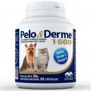 Suplemento Vitaminico Pelo & Derme 1500 (90g/60 Capsulas) - Vetnil