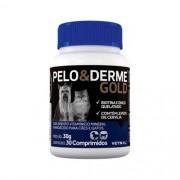 Suplemento Vitaminico Pelo & Derme Gold (30g/30 comprimidos) - Vetnil