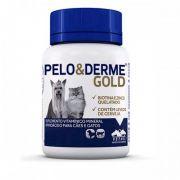 Suplemento Vitaminico Pelo & Derme Gold (60g/60 comprimidos) - Vetnil