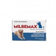 Vermifugo Milbemax Para Caes De 5kg A 25kg - Elanco