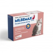 Vermifugo Milbemax para Gatos até 2kg - Elanco