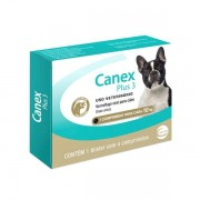 Vermifugo para Cães Canex Plus 3 10kg (4 comprimidos) - Ceva