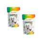 Kit 2 Unidades Suplemento Vitamínico para Cães e Gatos Compplet Mix Pet A-Z 120g - Organnact