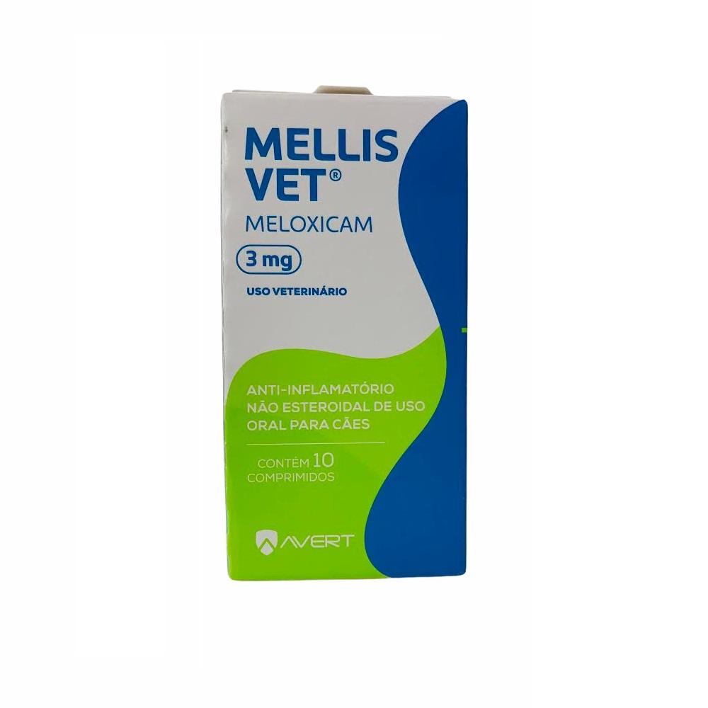 Anti-inflamatório para Cães Mellis Vet 3mg - Avert