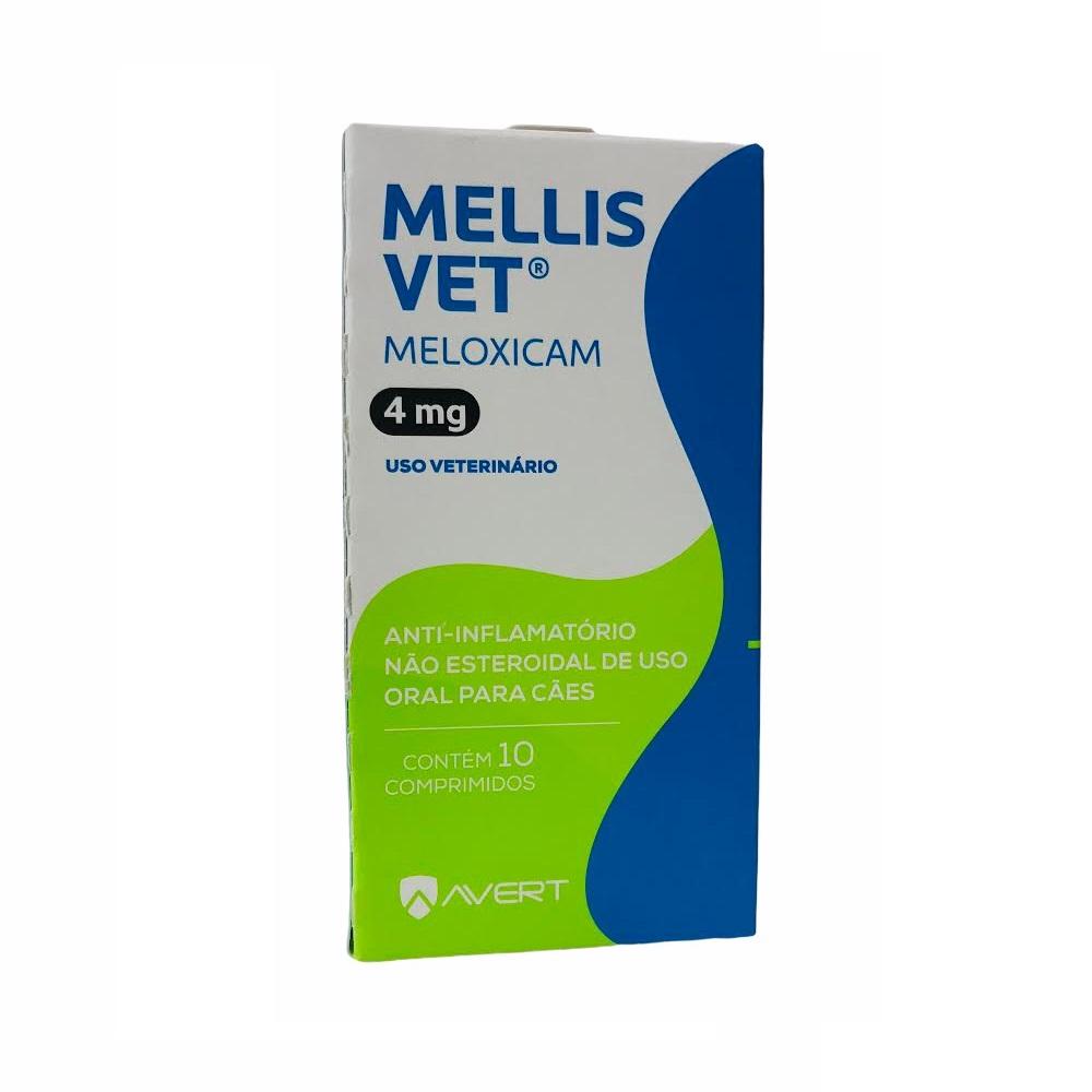 Anti-inflamatório para Cães Mellis Vet 4mg - Avert