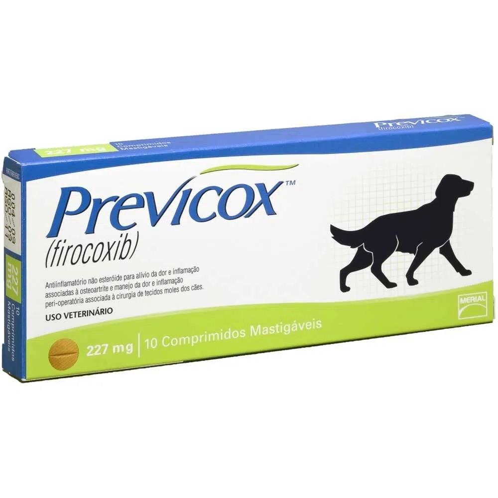 Anti Inflamatório para Cães Previcox 227mg - Boehringer Ingelheim