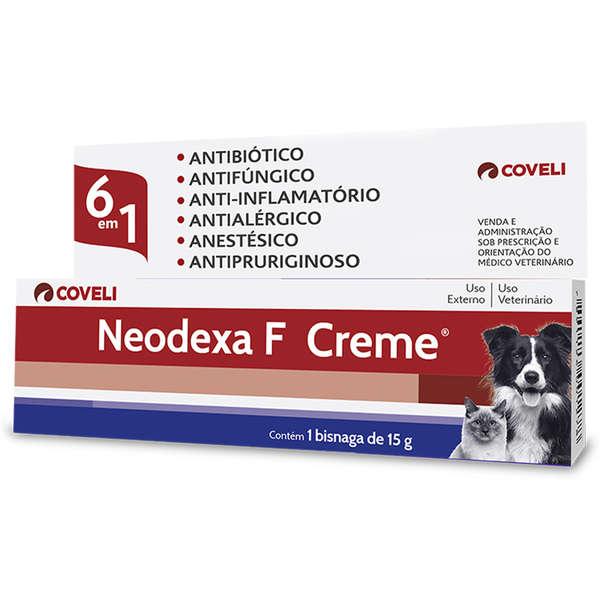 Antibiótico Neodexa F Creme 15g - Coveli