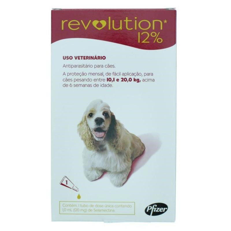 Antipulgas Revolution Para Caes De 10,1kg A 20kg - Zoetis