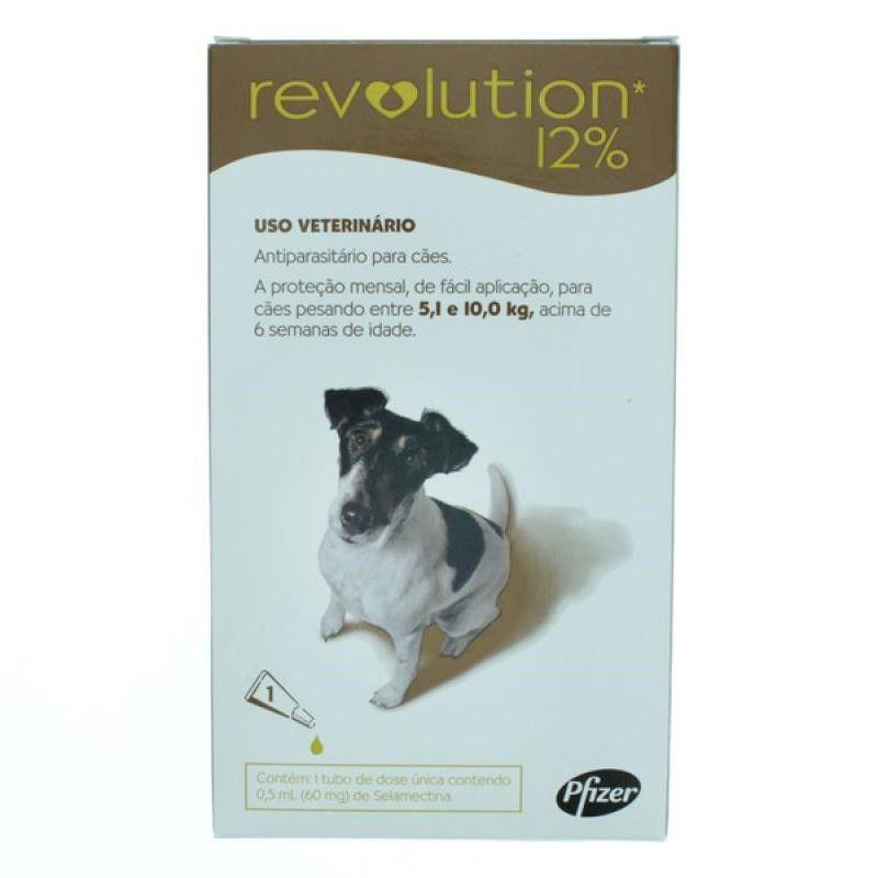 Antipulgas Revolution Para Caes De 5,1kg A 10kg - Zoetis