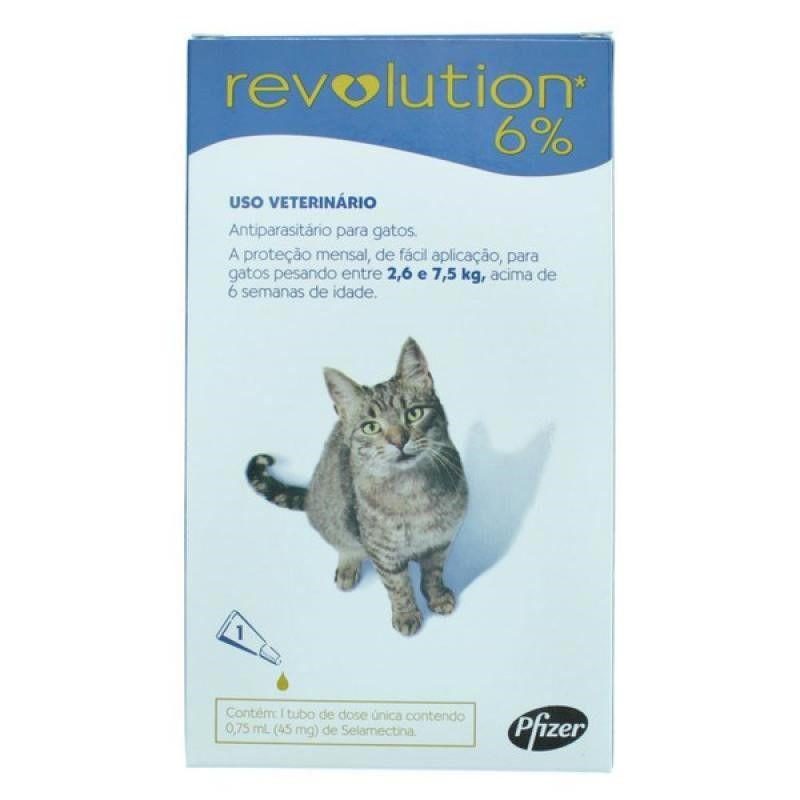 Antipulgas Revolution Para Gatos De 2,6kg A 7,5kg - Zoetis