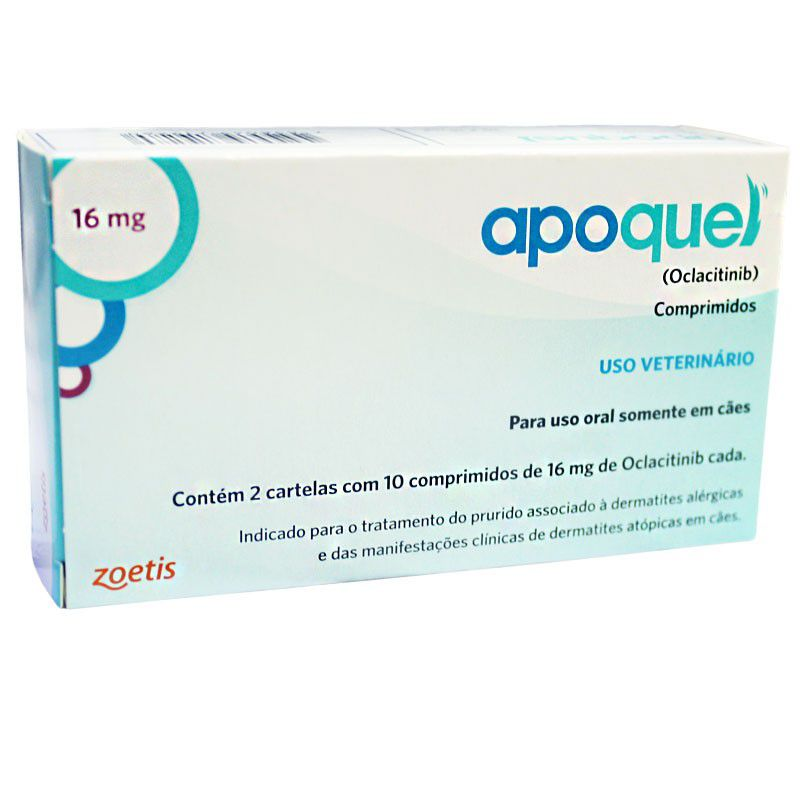 Apoquel 16mg (20 Comprimidos) - Zoetis