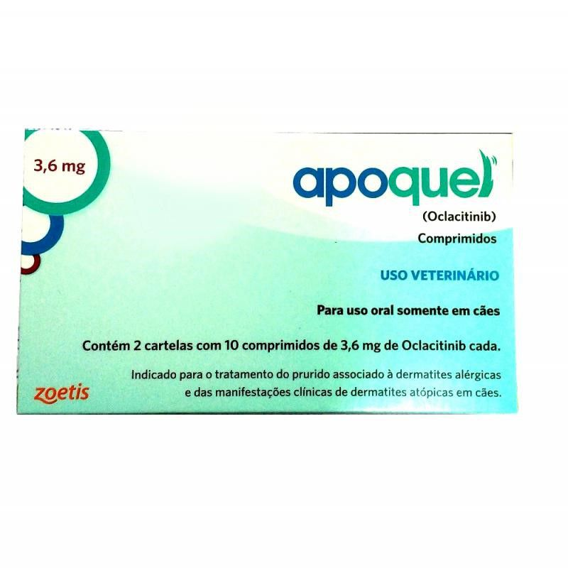 Apoquel 3,6mg (20 Comprimidos) - Zoetis