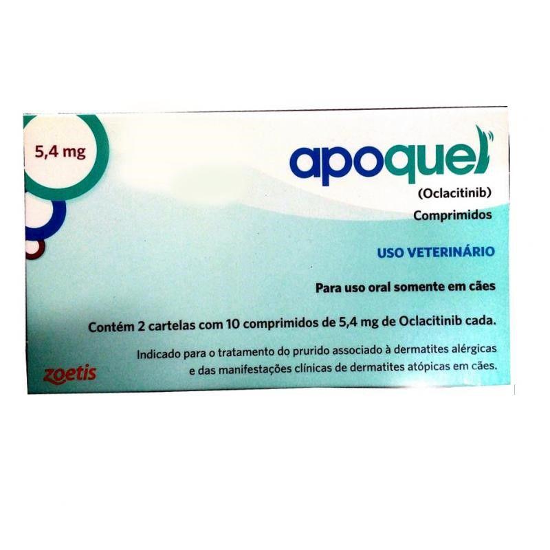 Apoquel 5,4mg (20 Comprimidos) - Zoetis