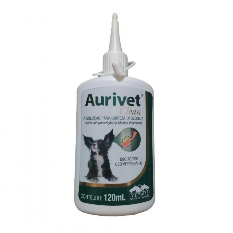 Aurivet Clean 120ml - Vetnil