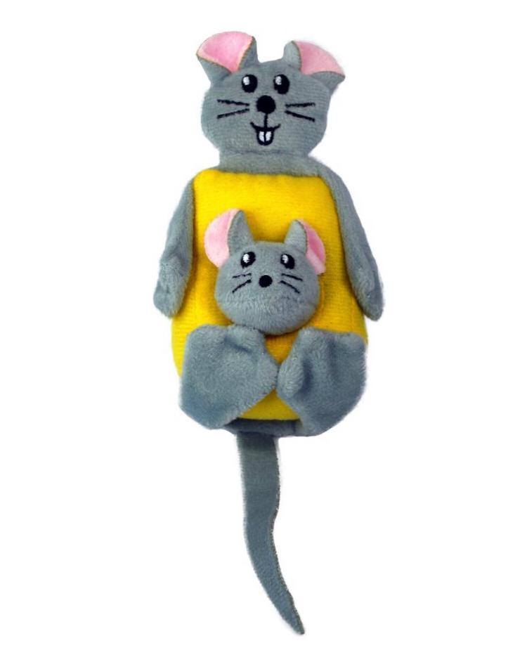 Brinquedo para Gatos Cheezy com Catnip - Kong Pull a Partz