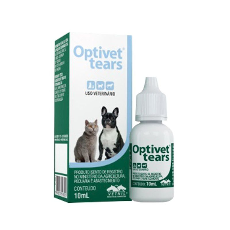 Colírio Optivet Tears 10ml - Vetnil