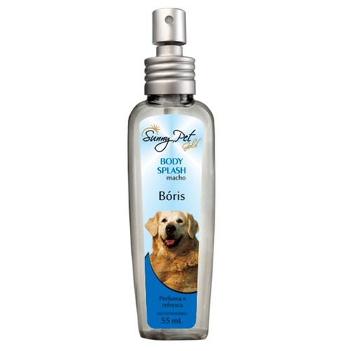 Colônia Body Splash Bóris (Macho) 55ml - Sunny Pet