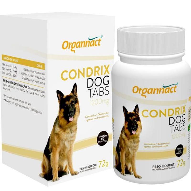 Condrix Dog Tabs 1200mg (72g) - Organnact