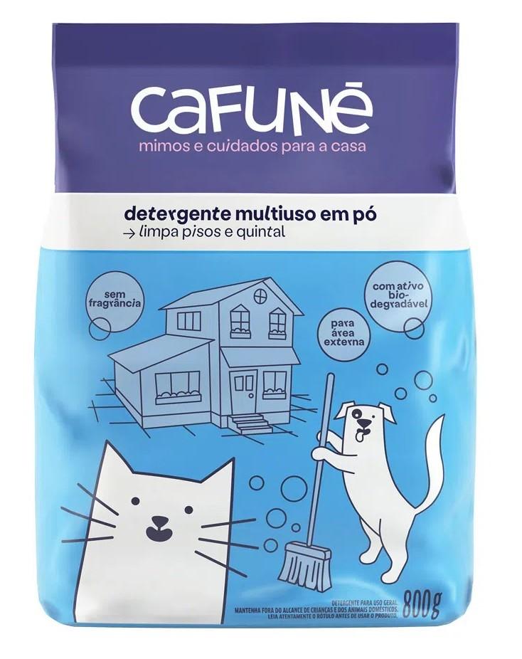 Detergente em Pó Multiuso sem Fragrância 800g - Cafuné