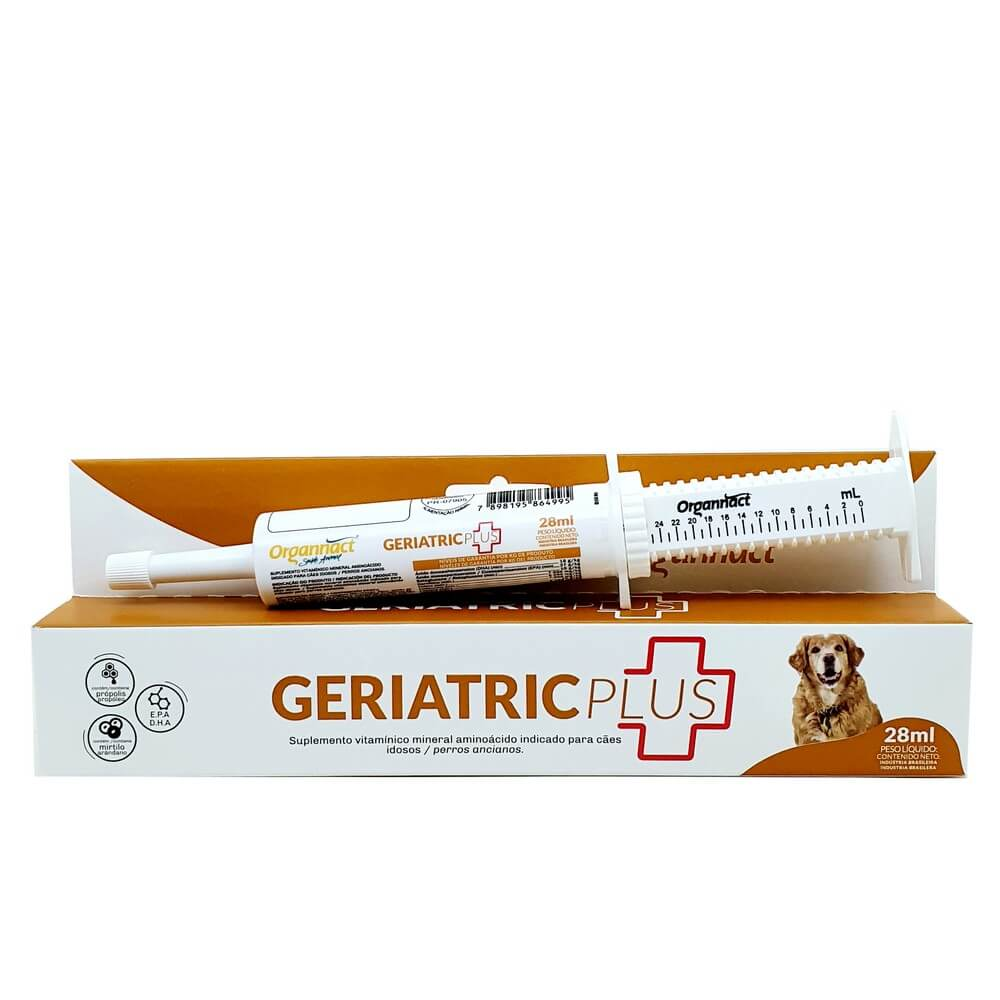 Geriatric Plus 28ml - Organnact