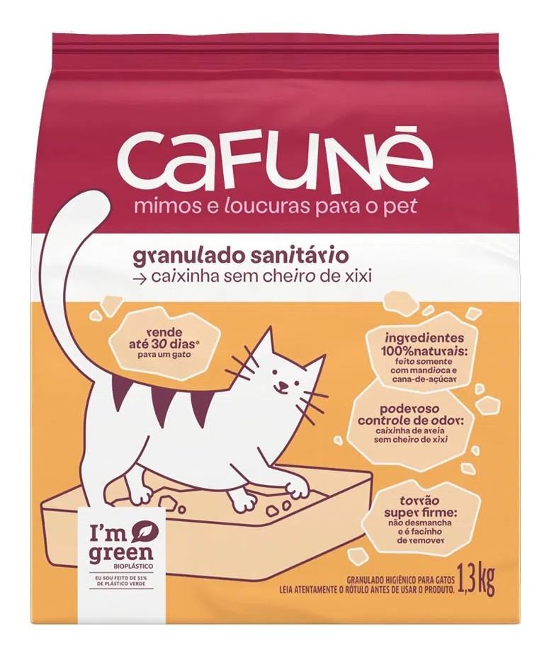 Granulado Sanitário para Gatos 1,3kg -  Cafuné