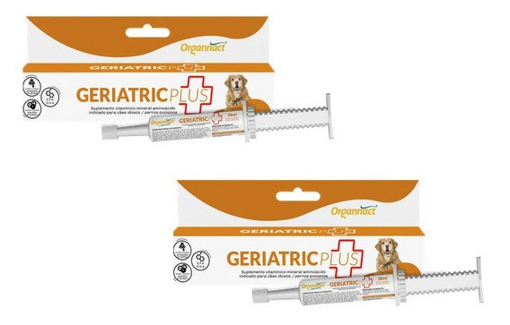 Kit 2 Unidades Geriatric Plus 28ml - Organnact