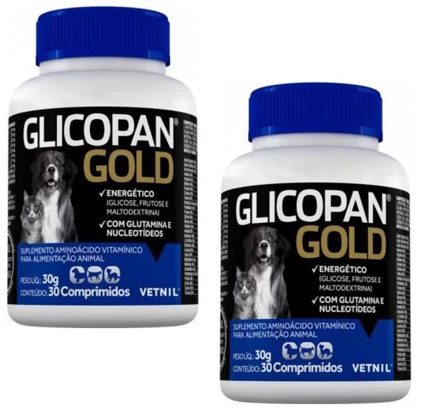 Kit 2 Unidades Glicopan Gold (30 Comprimidos) - Vetnil