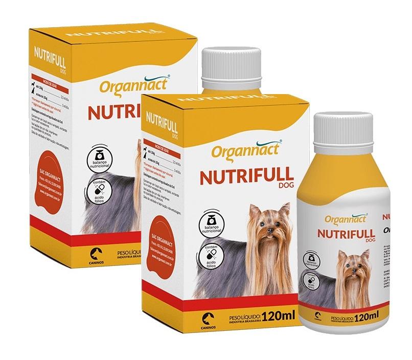 Kit 2 Unidades Nutrifull Dog 30ml - Organnact