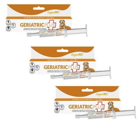 Kit 3 Unidades Geriatric Plus 28ml - Organnact