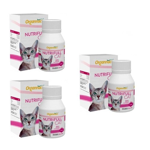 Kit 3 Unidades Nutrifull Cat 30ml - Organnact