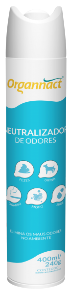 Neutralizador de Odores 400ml/240g - Organnact