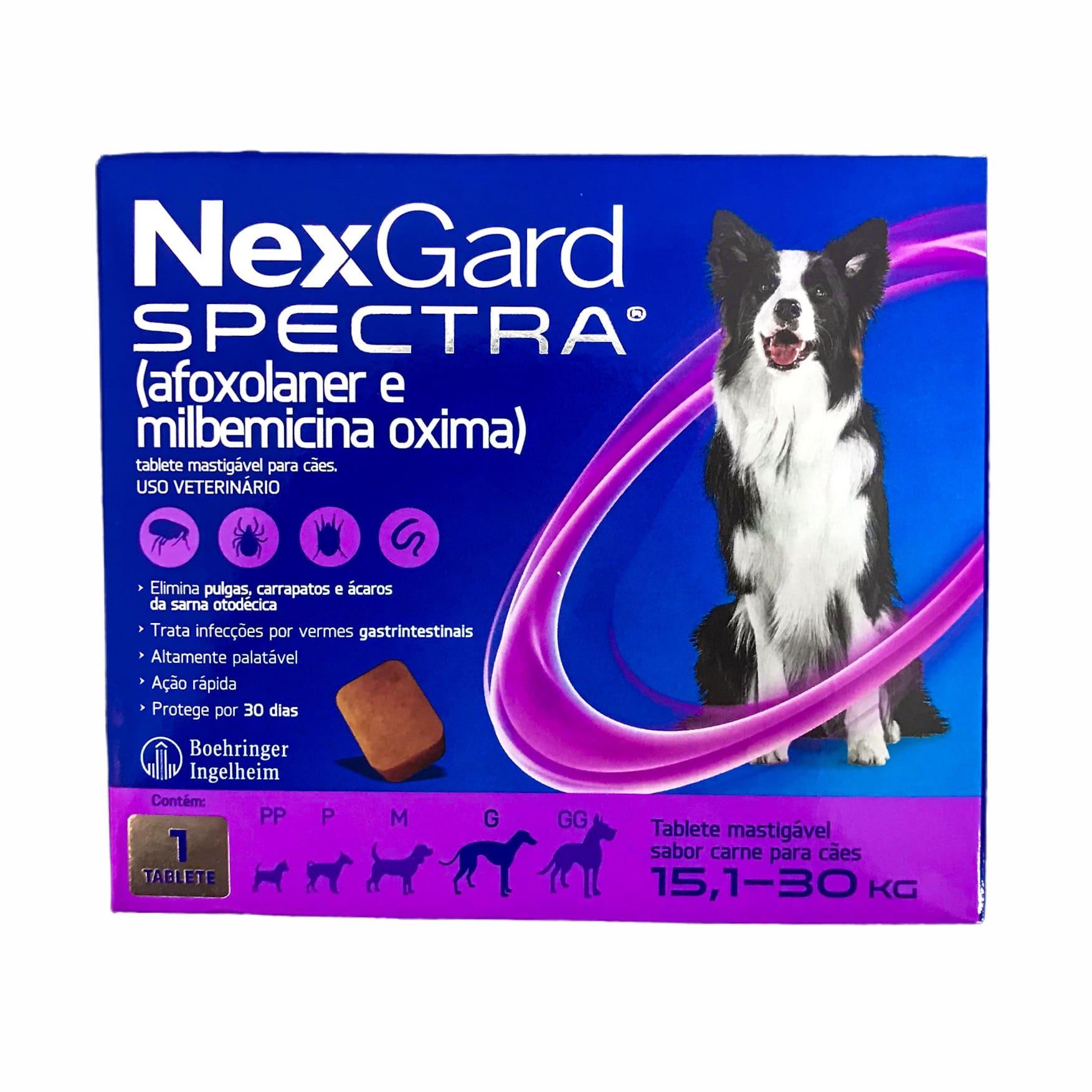 Nexgard Spectra para Cães de 15 a 30kg - Boehringer Ingelheim
